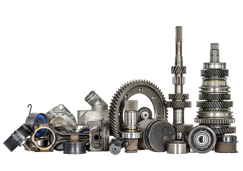 We supply genuine and OEM transmission parts: Gears, gear-shafts, gear-wheels, sprockets, cog wheels, gear pinion